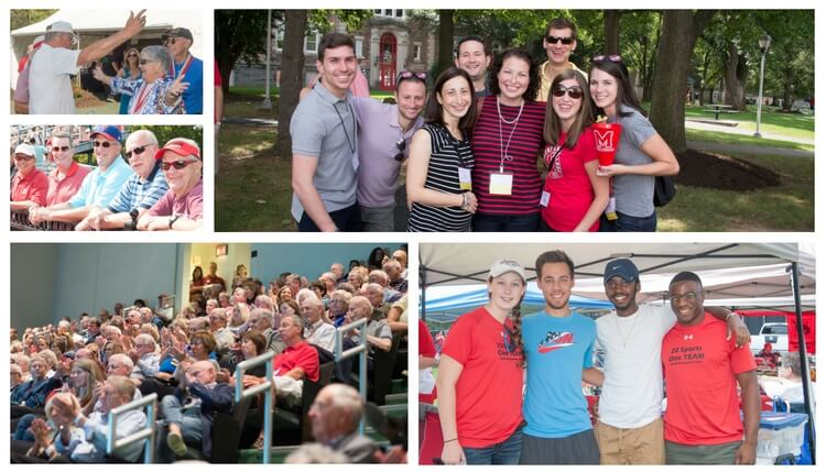 Five Reasons You Should Come Home for Alumni Weekend