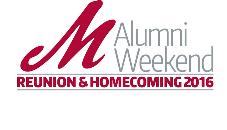 Come Home for Alumni Weekend