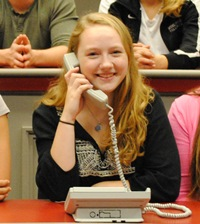 Phonathon Spotlight: Lily Jane Walsh '18
